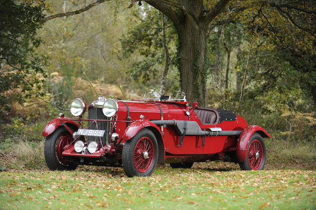 1936 Lagonda LG45 4½-Litre Fox & Nicholl Le Mans Team Car Replica  Chassis no. 12001 Engine no. LG45/12001