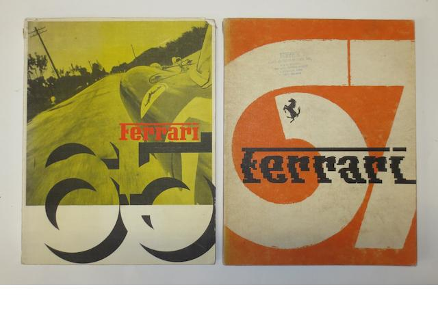 Two Ferrari Yearbooks for 1965 and 1967,