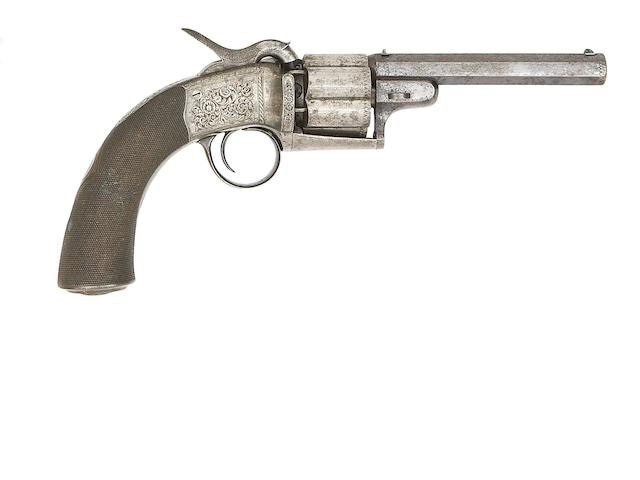 A 55-Bore Transitional Six-Shot Single-Action Gas-Sealed Percussion Revolver