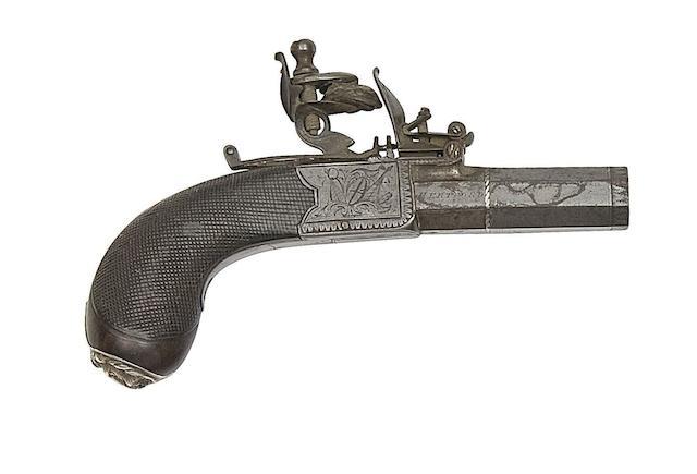 A 50-Bore Flintlock Box-Lock Pocket Pistol
