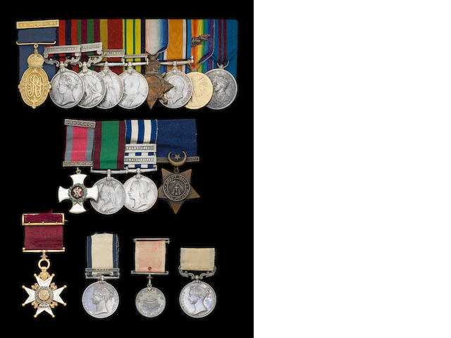 3 to H M Bowcutt & badges etc