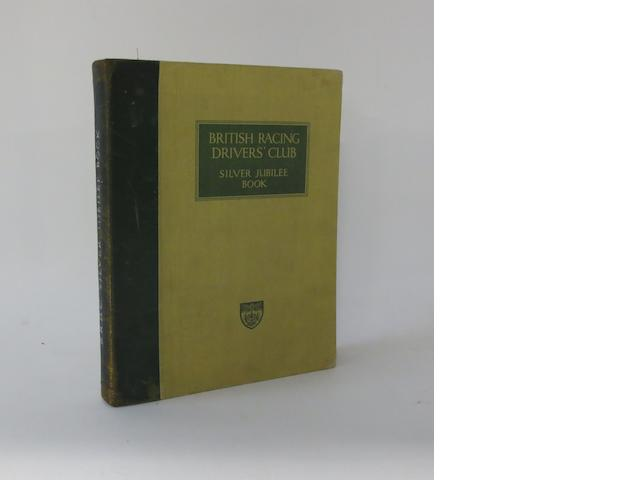 British Racing Drivers' Club Silver Jubilee book, 1952,
