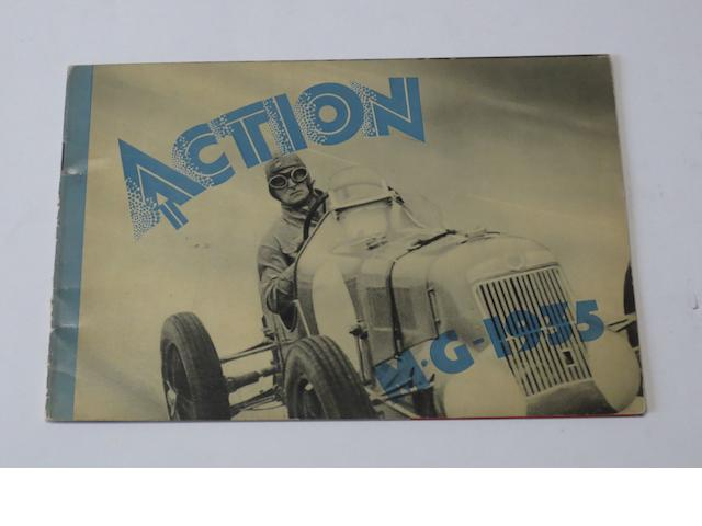 MG: 'Action', 1935,