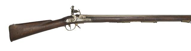 A Prussian 22-Bore 1805 Model Flintlock Infantry Musket