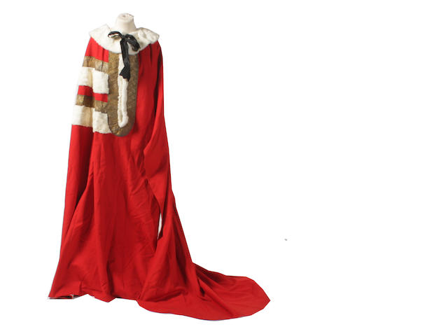 Lord Mowbray & Stourton's Parliamentary robe