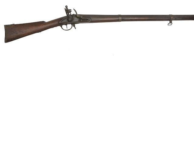 A Russian 13-Bore Flintlock Infantry Musket