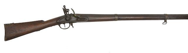 A Russian 13-Bore Flintlock Infantry Musket