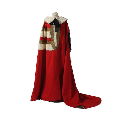 Lord Deramore's Parliamentary robe