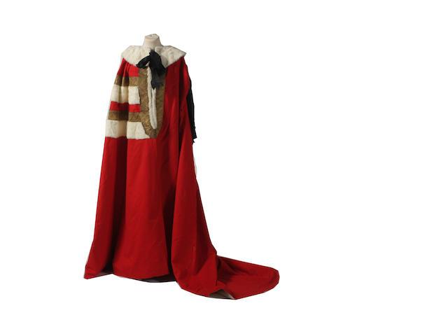 Lord Deramore's Parliamentary robe