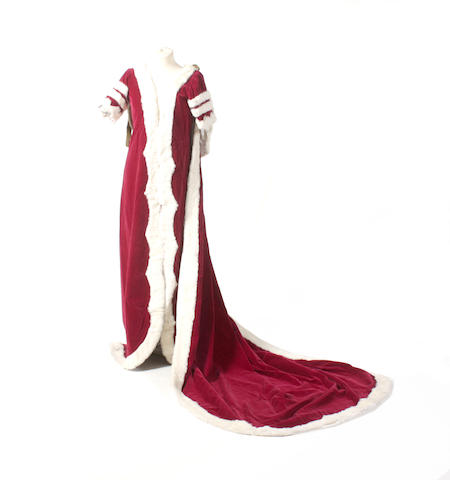 A Peeress' Coronation robe