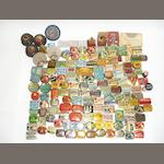 A gramophone needle tin collection: approximately 136,