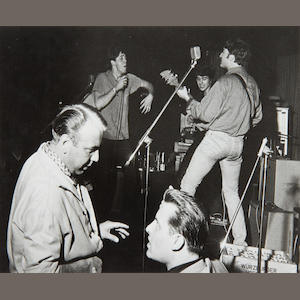 Gerd Mingram ('Germin') (1910-2001): The Beatles in the Top Ten Club, Hamburg,  1961,