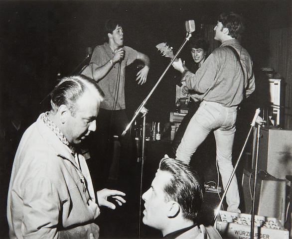 Gerd 'Germin' Mingram (German, 1910-2001): The Beatles in the Top Ten Club, Hamburg, 1961,