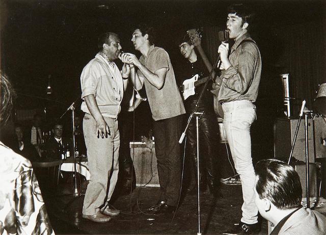 Gerd Mingram ('Germin') (1910-2001): The Beatles at the Top Ten Club, Hamburg,  1961,