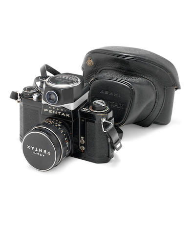 George Harrison: An Asahi Pentax S1a camera in case, 1960s,