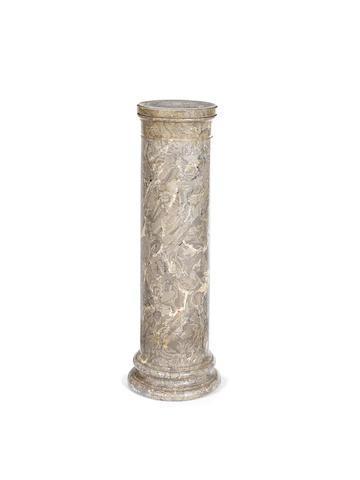 A scagliola column
