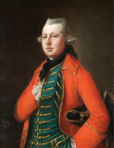 Thomas Gainsborough (Sudbury 1727-1788 London) Portrait of Mr. Coke