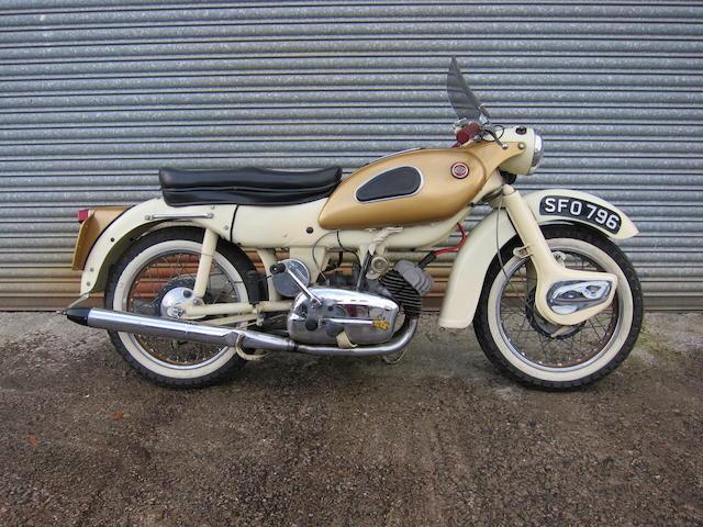 1962 Ariel 247cc Arrow Super Sports Frame no. T29432/G Engine no. T2876A