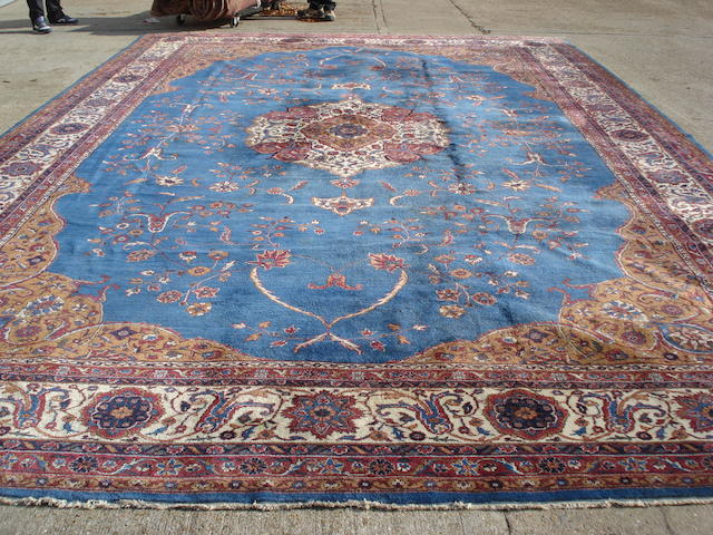 A large Anatolian carpet, 650cm x 418cm