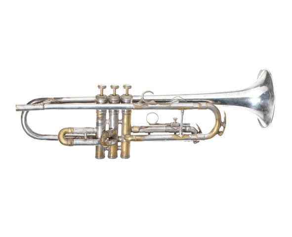 The Beatles: a King Super 20 trumpet, as played on 'Martha My Dear' for the 'White Album', 1968,