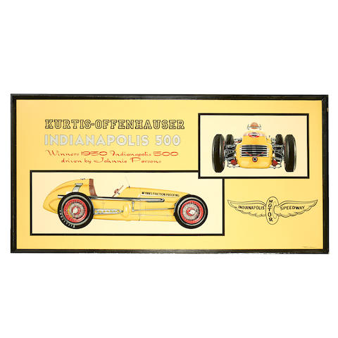 Tony Upson, 'The 1950 Indianapolis 500 winning Kurtis-Offenhauser',