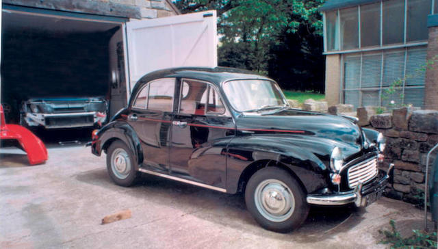 1967 Morris Minor 1000 Deluxe Saloon  Chassis no. MA2S5D/1204329M Engine no. 10MAUH289495