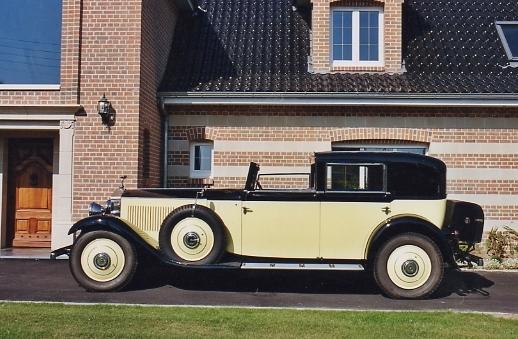 Rare version volant à gauche,1929 Rolls-Royce 40/50hp Phantom II Sedanca de Ville  Chassis no. 24EX