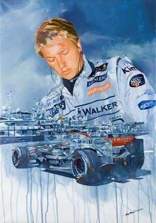 Craig Warwick, 'Kimi Raikonnen Monaco',