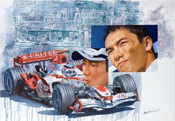 Craig Warwick, 'Takuma Sato Monaco',
