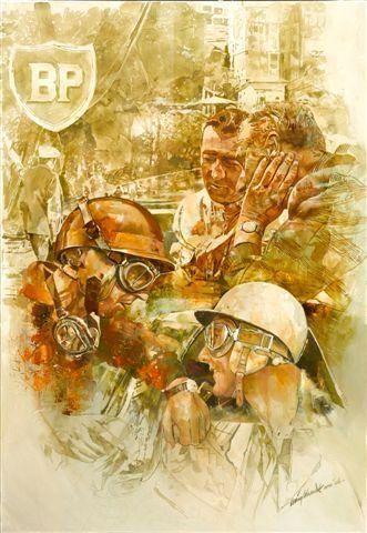 Craig Warwick, 'Team Vanwall Monaco 1958',