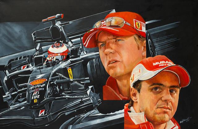 Craig Warwick, 'Ferrari drivers Monaco',