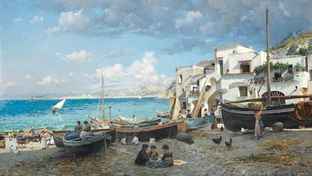 Federico del Campo (Peruvian, 1837-1923) Capri