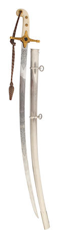 A Mameluke Hilted Sabre of a Lord Lieutenant of an English County