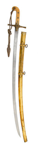 An 1831 Pattern General Officer's Mameluke Hilted Sabre