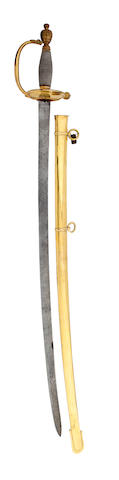A Variation of the 1796 Pattern Infantry Officer's Sword
