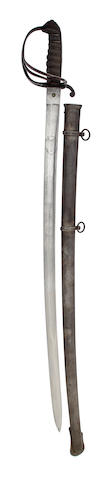 An 1821 Pattern Artillery Officer's Sword of the Madras Artillery
