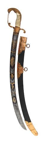 An Ornate Georgian Officer's Sabre