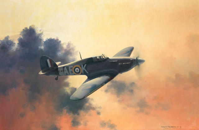 Charles J Thompson GAvA (1930-), 'Hawker Hurricane',