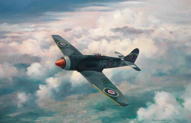 Charles J Thompson GAvA (1930-), 'Hawker Tempest',