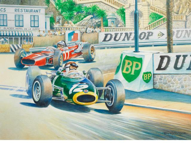 Tony Gardiner, '1966 Monaco Grand Prix',