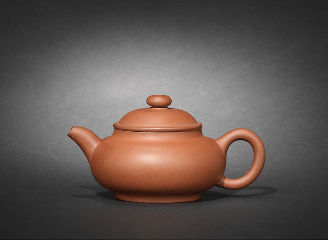 An Yixing teapot and cover Republician period, dated 1914