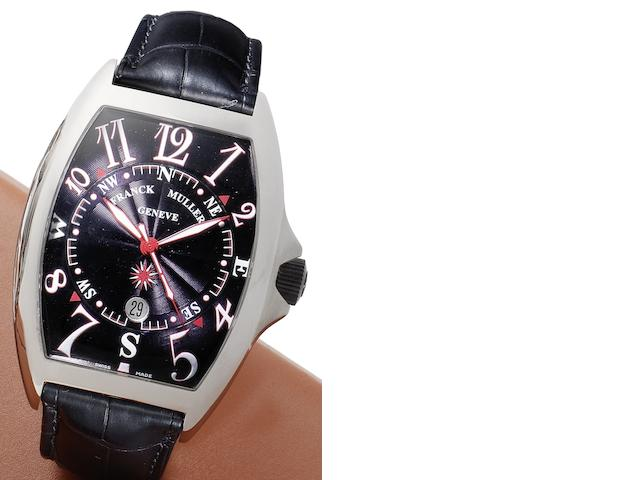Franck Muller. A stainless steel automatic calendar wristwatch Mariner, Circa 2008
