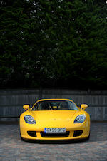 One owner 480 miles from new,2005 Porsche Carrera GT  Chassis no. WPOZZZ9826L000104 Engine no. 90630633