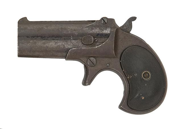 A .41 Remington Type II Model No. 3 Over-And-Under Rim-Fire Deringer