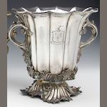 A William IV pair of Old Sheffield plate wine coolers by Roberts, Smith & Co., circa 1830