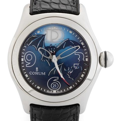 Corum. A fine limited edition automatic centre seconds calendar wristwatchBubble Bats, Circa 2005