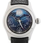 Corum. A fine limited edition automatic centre seconds calendar wristwatch Bubble Bats, Circa 2005