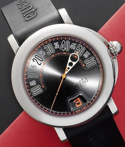 Gerald Genta. A stainless steel automatic calendar wristwatch Retro Sport, Ref:RSP.X.10-107000, Circa 1998