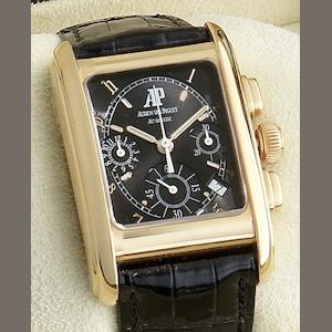 Audemars Piguet. An 18ct gold automatic calendar chronograph wristwatch Eduard Piguet, Case No.E53922, Circa 2005