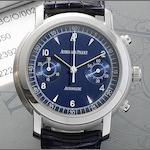 Audemars Piguet. A white gold automatic chronograph wristwatch together with fitted Audemars Piguet box and papers  Jules Audemars, Ref:E23928, Recent